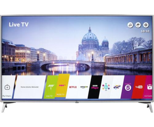LG 55UJ6519 4K/UHD LED Fernseher 139 cm [55 Zoll] Schwarz