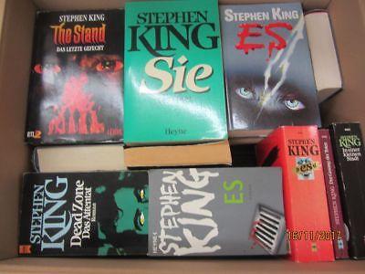 Stephen King 42 Bücher Horrorromane Gruselromane Fantasyromane
