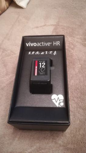 Garmin vivoactive HR - Schwarz (XL) Fitness Uhr