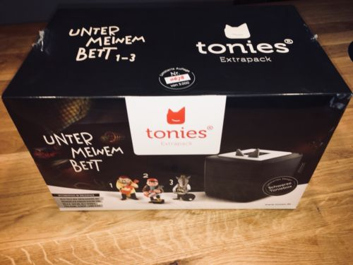 Tonie Toniebox schwarz Bundle Unter Meinem Bett OVP Verschweißt NEU Weihnachten