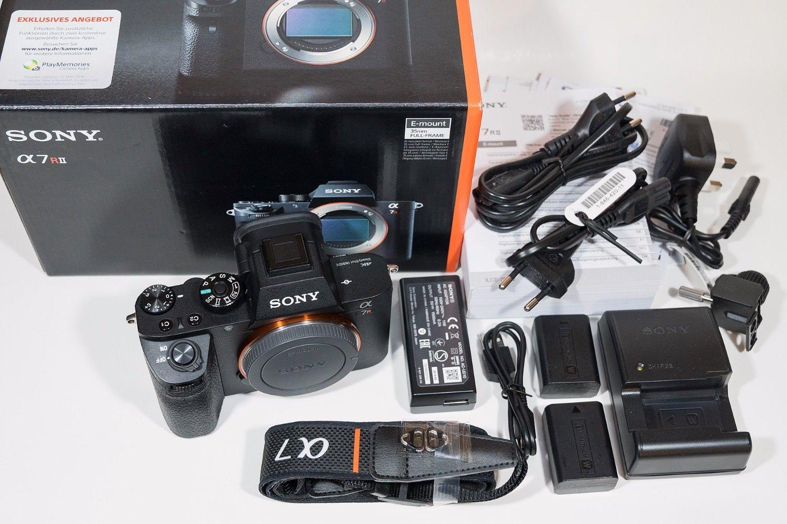 Sony Alpha ILCE-7RM2 A7RII A7RM2