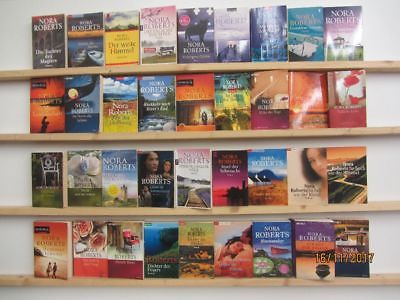 Nora Roberts 36 Bücher Romane romantische Romane Top Titel Bestseller