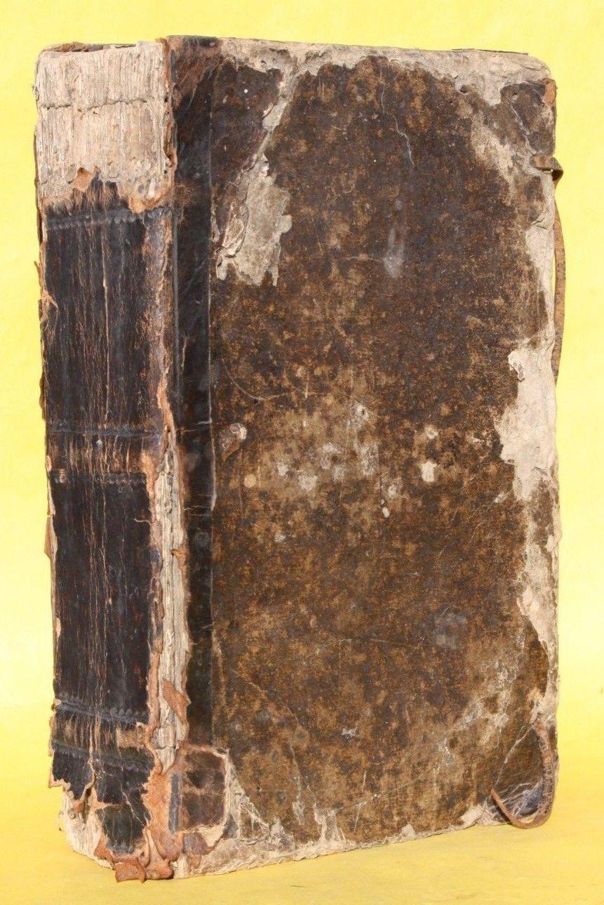ADAM LONICER,VOLLSTÄnDIGES KRÄUTER-BUCH,800 HOLZSCHNITTE,ULM,1737,RAR