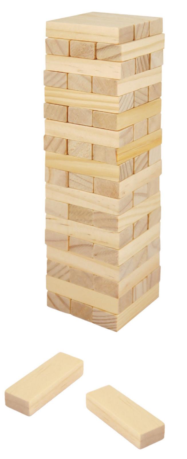 Wackelturm Holzturm Stapelturm Geschicklichkeit Stapelturm Kinder Holz Bausteine