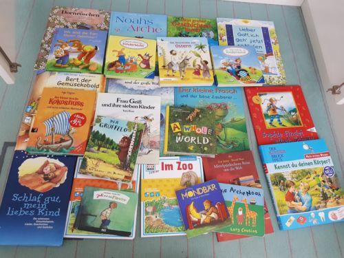 24 Kinderbücher, viele hochwertige, guter Zustand, für Alter 2-5 Jahre/Kita