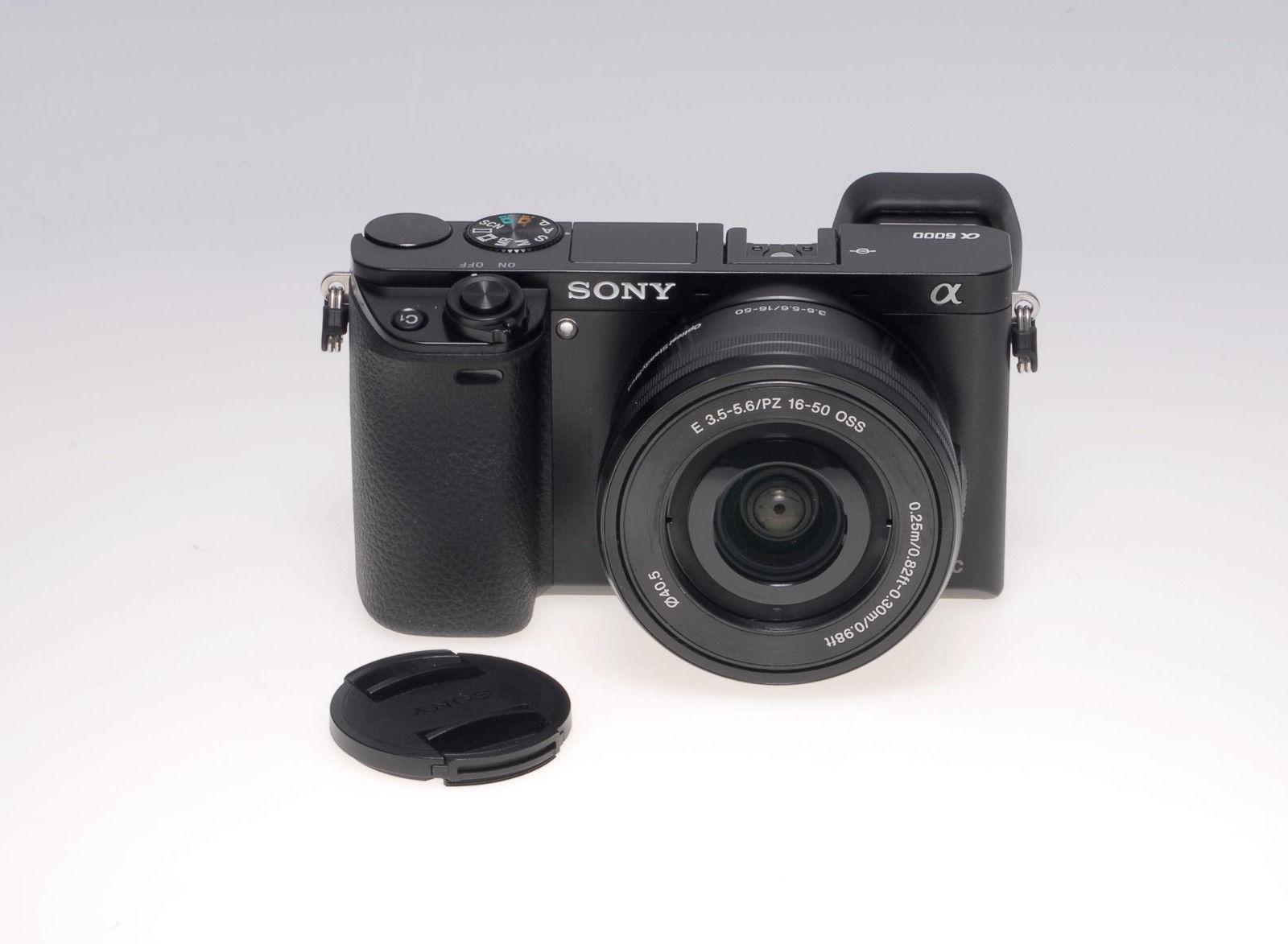 Sony Alpha ILCE-6000L - Kit mit E PZ 16-50mm 1:3,5-5,6 OSS - gebraucht