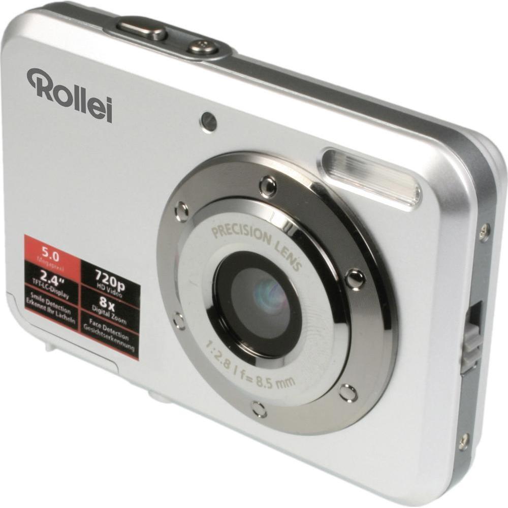 Rollei Compactline 52 Digitalkamera 5 Megapixel, 8-fach digital Zoom NEU