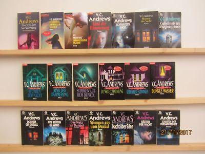 V. C. Andrews 20 Bücher Romane Mystische Romane Krimi Thriller