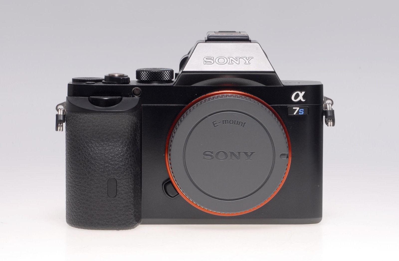 Sony Alpha ILCE-7S 12.2 MP Digitalkamera - Schwarz (Nur Gehäuse) - Vorführstück