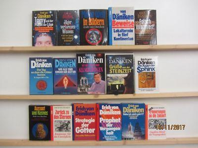 Erich von Däniken 16 Bücher Sachbücher Außerirdische Aliens Forschung
