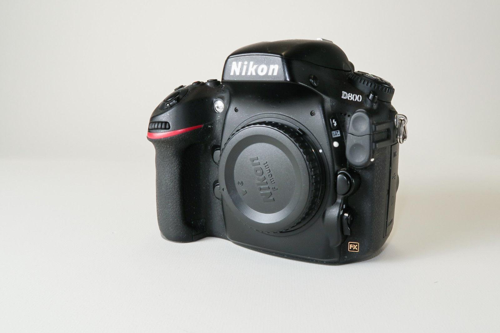 Nikon D D800 DSLR (Nur Gehäuse) -- Nur 22180 Auslösungen !! -- OVP