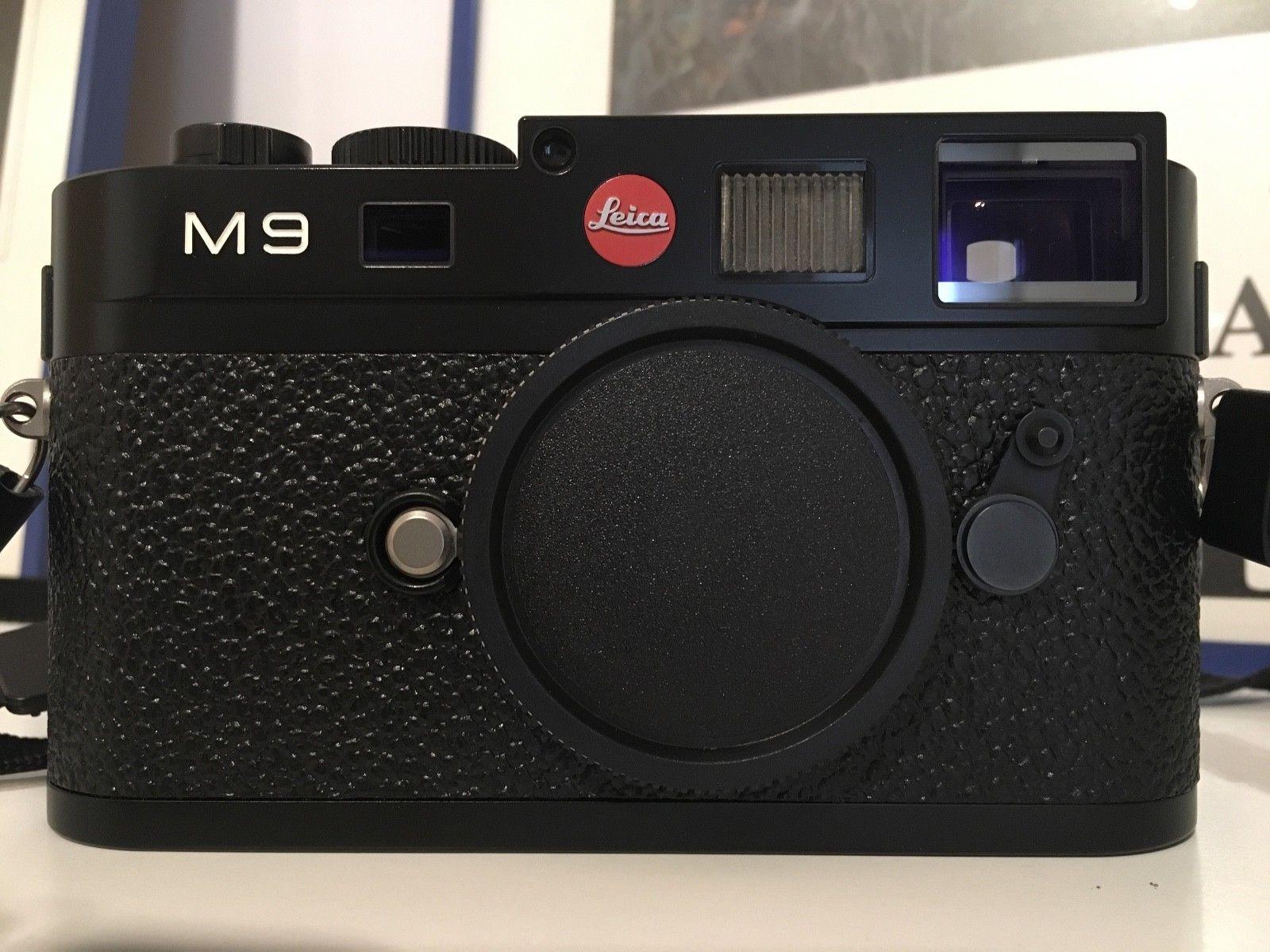 Leica M9 - Schwarz - 3178 Auslösungen