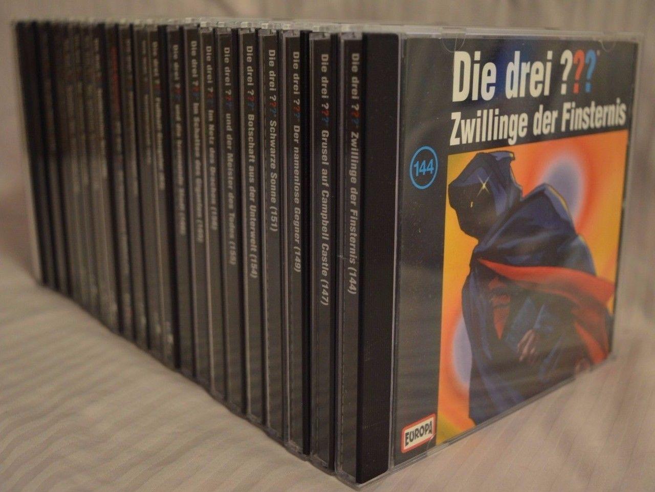 CD Sammlung - Die drei Fragezeichen ??? - 21 Stück - TOP