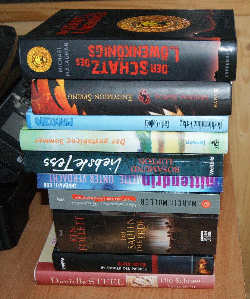Bücherpaket Thriller Krimis Romane Erfahrungen Bücher Paket Nr. 2 10 Stück