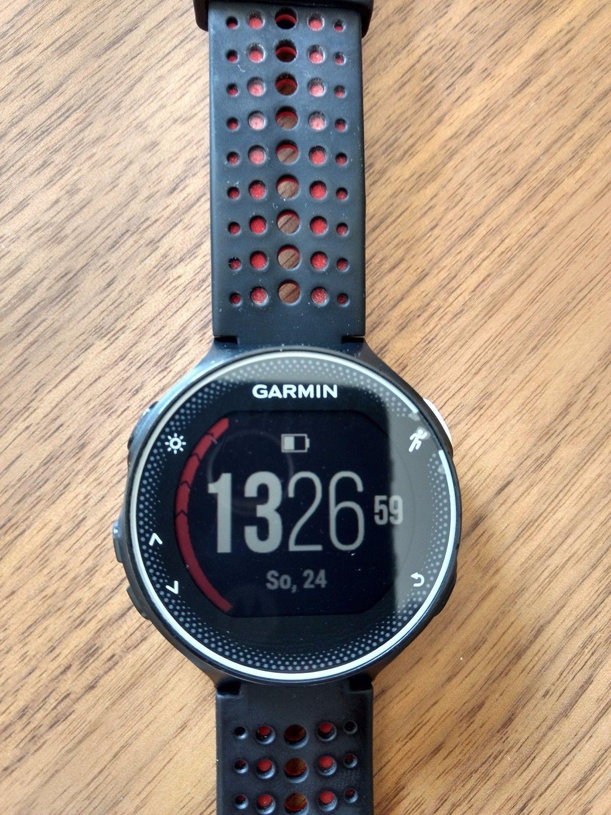 Garmin Forerunner 230 GPS Laufuhr Schwarz, Activity Tracker, wasserdicht