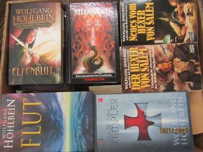 Wolfgang Hohlbein 34 Romane Fantasyromane historische Romane Horrorromane