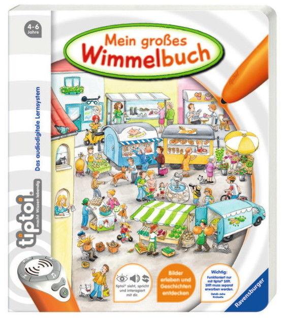 Ravensburger tiptoi Buch Mein großes Wimmelbuch 00597