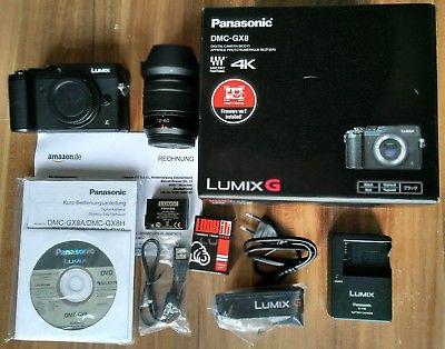 Panasonic LUMIX G DMC-GX8 + Vario 12-60mm f/3.5-5.6 | Systemkamera DLSM | OVP