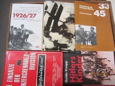 37 Bücher Bildbände Dokumentation 2. WK 3. Reich NSDAP Nationalsozialismus
