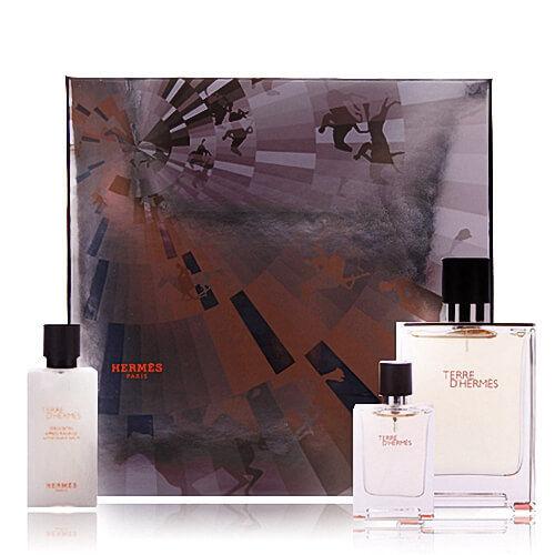 Hermes Terre D Hermes Luxus SET EDT 100 ml + EDT 12,5 ml + AS 40 ml NEU OVP