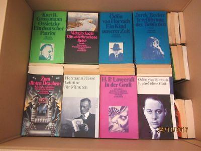 124 Bücher Taschenbücher suhrkamp Verlag