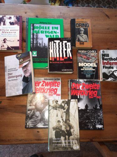Bücher Sammlung Weltkrieg, 3. Reich, Guderian, 08/15, Dachbodenfund, Hürtgenwald