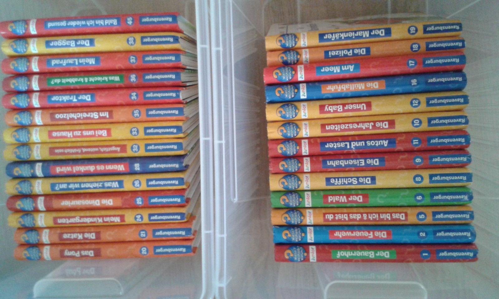 Wieso? Weshalb? Warum ? Junior 27 Bücher Sammlung in Topzustand, kein Gekritzel