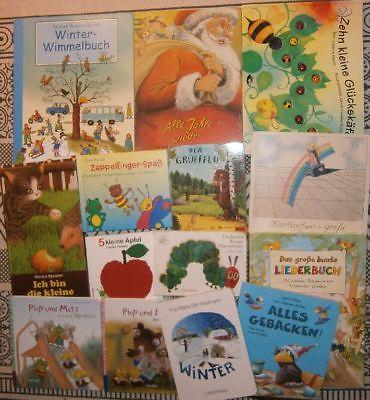 Paket Kinderbücher - Bilder - Spiele - Wimmel - Bücher – Pappe