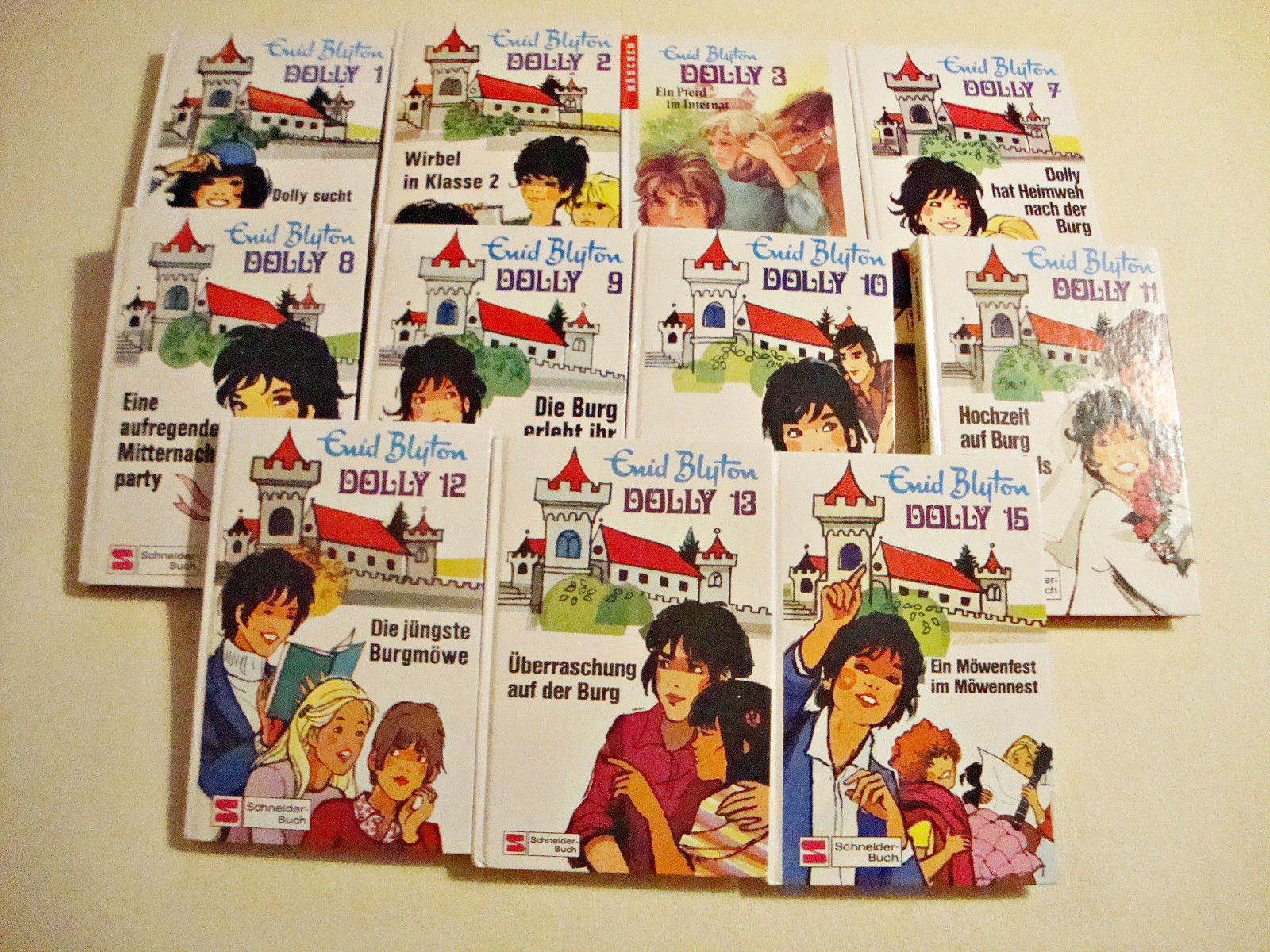 39 Bücher  von Enid Blyton, Kinderbücher, Jugendbücher, Dolly, Hanni und Nanni