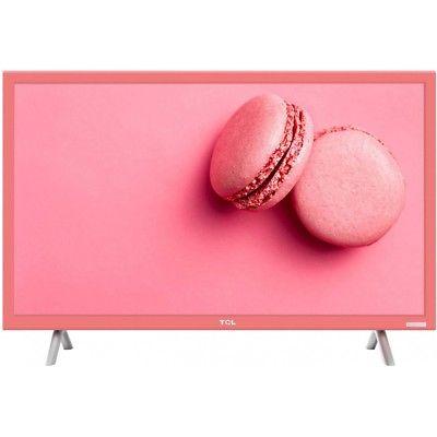 TCL LED Fernseher H24E4455 pink rosa Triple TV DVB-T/C/S2 CI+ 61cm 24'' WOW!