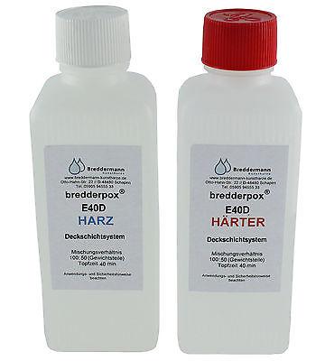 Epoxid Deckschicht Gießharz 750g wasserklar, transparent, glasklar für Gießlinge
