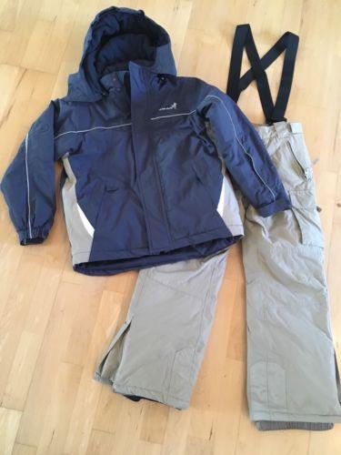 Schneeanzug TCM Skianzug *blau/beige Gr.134/140 Jungen Skijacke Skihose