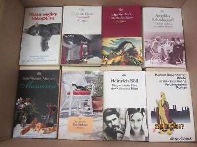 109 Bücher Taschenbücher dtv Verlag