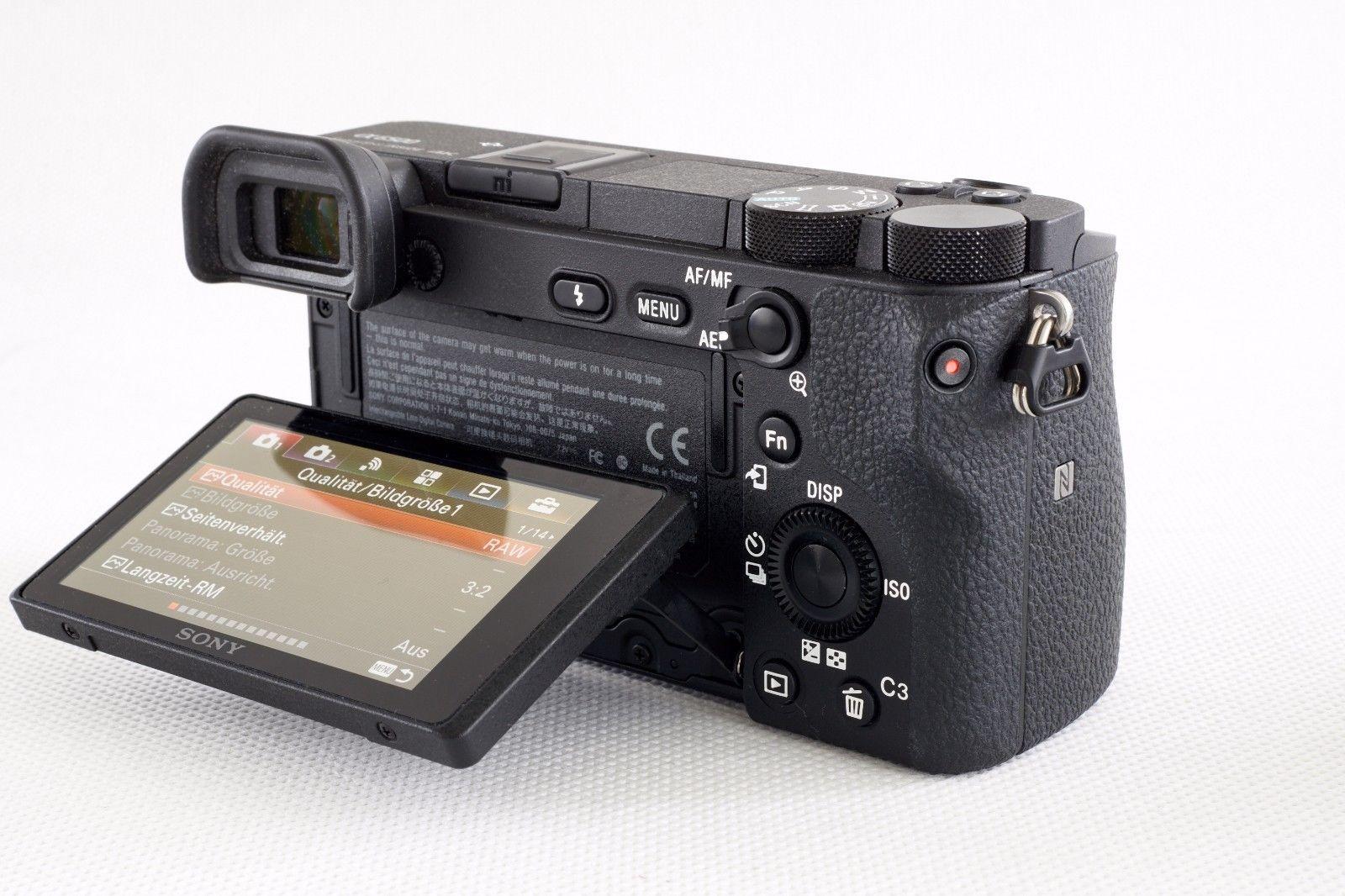 Sony Alpha ILCE-6500 24.2 MP Digitalkamera - Sony A6500wie NEU!