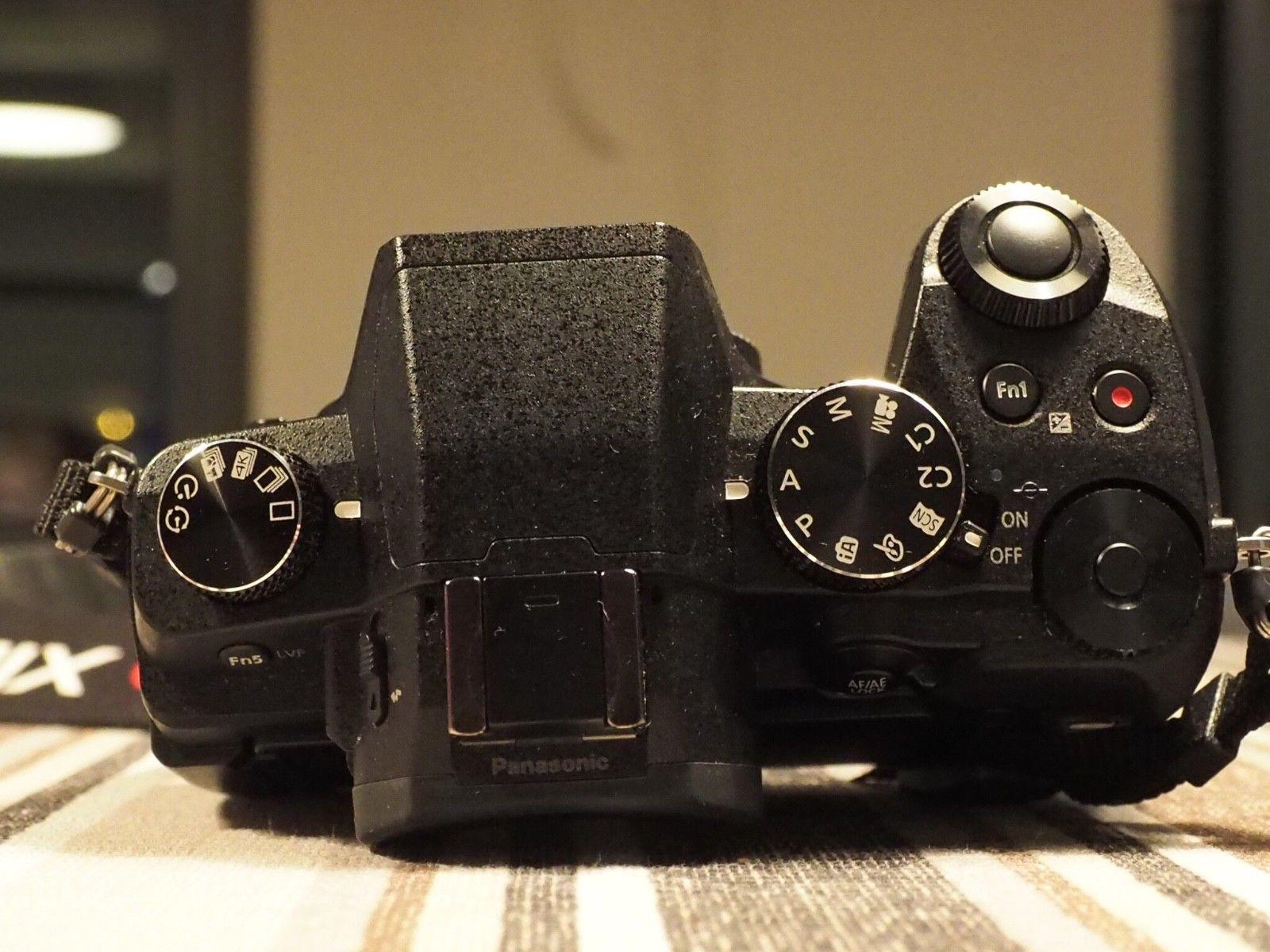 Panasonic Lumix DMC-G81 - sehr guter Zustand, Body in schwarz