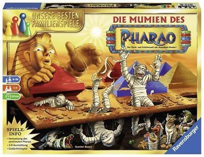 Ravensburger 26752 - Die Mumien des Pharao, Familienspiel, Merk und Suchspiel