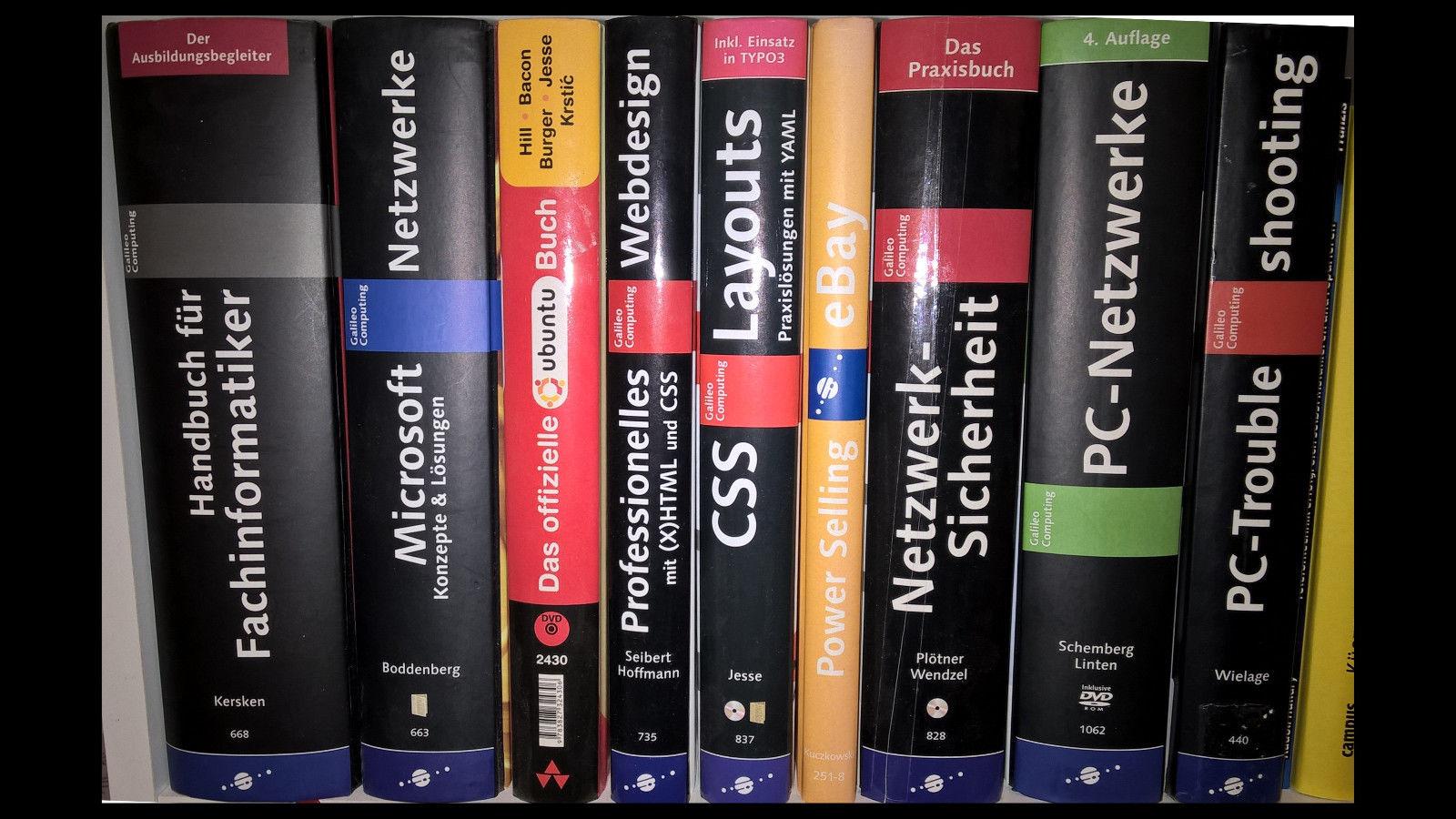 IT-Fachbücher von Galileo Press - IT und Netzwerke