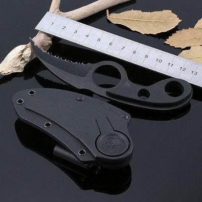 1pc Selbstverteidigung Bear Claw gezahnte Pocket Knife Schneidwerkzeug