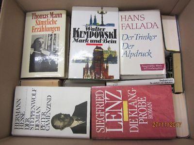 41 Bücher Romane deutsche Klassiker Böll Lenz Mann Grass Kempowski u.a.