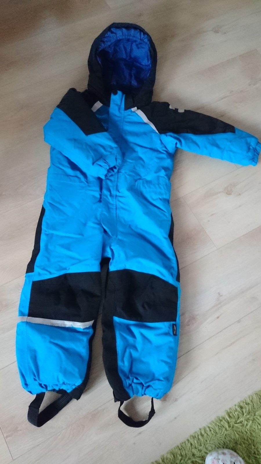 H&M Schneeanzug Jungen Gr. 110, blau