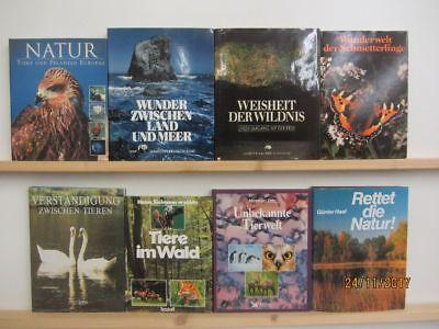 18 Bücher Bildbände Natur Umwelt Umweltschutz Naturparadiese Naturoasen Paket 2