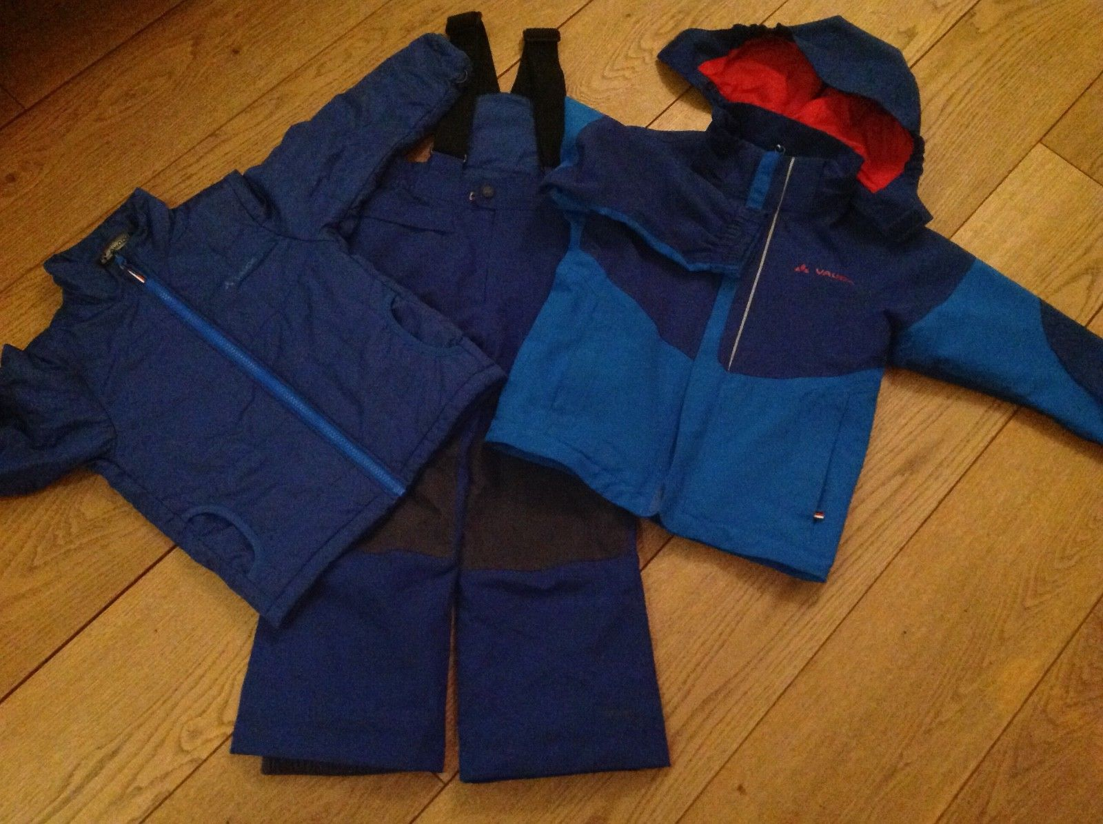 Vaude Skianzug / Schneeanzug Kids Suricate 3in1 Jacket 110 - 116 blau