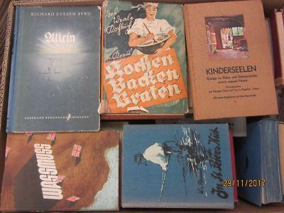 51 Bücher antiquarische Bücher