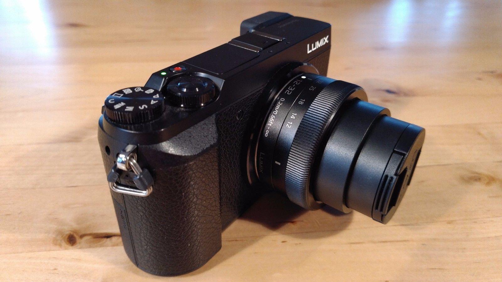 Panasonic LUMIX DMC-GX80K 16.0MP -LUMIX G VARIO 12-32mm - Zubehörpaket 2 Akkus