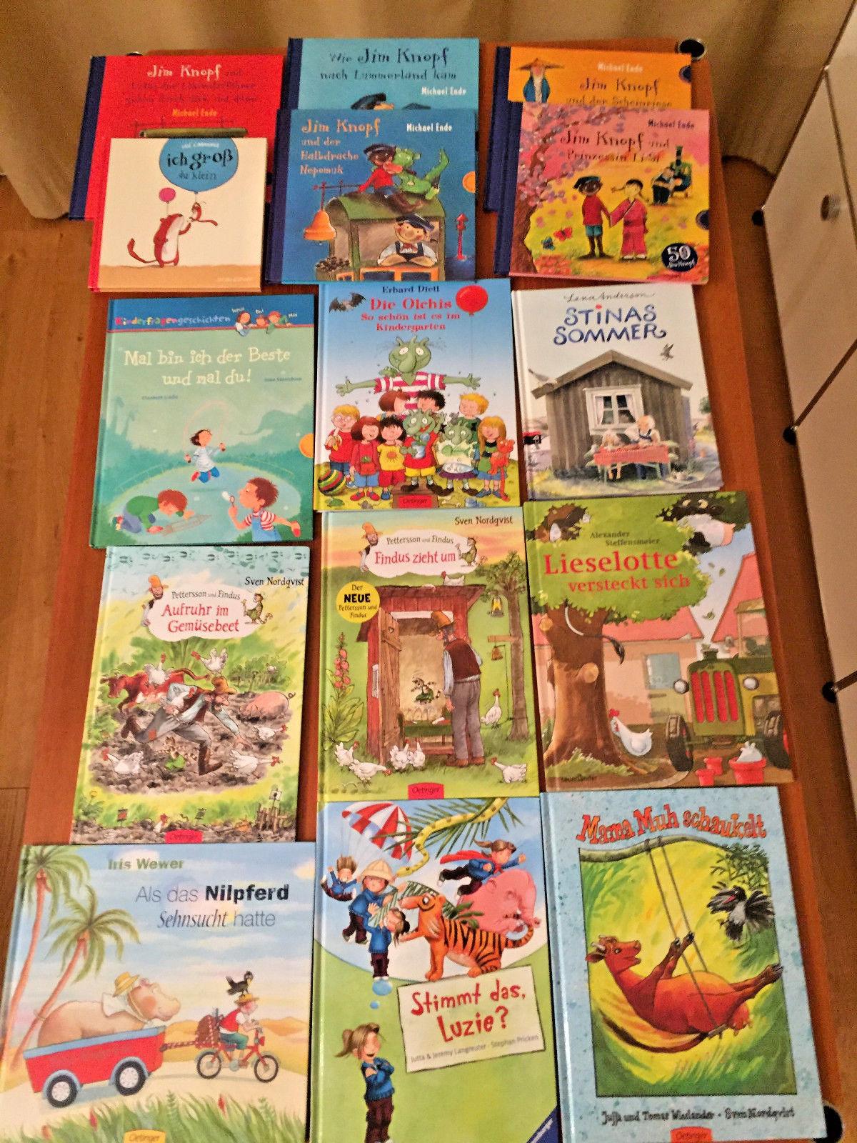 15 gute Kinderbücher Bücherpaket Kinder Klassiker Kindergarten Grundschule