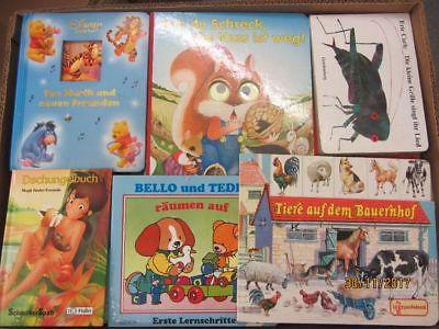 90 Bücher Kinderbücher Kleinkinderbücher Kindergartenbücher Bilderbücher