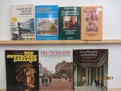 26 Bücher Bildbände Kunst Kultur Geschichte deutsche Geschichte