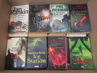 54 Bücher Romane Krimi Thriller Psychothriller  Top Titel Bestseller
