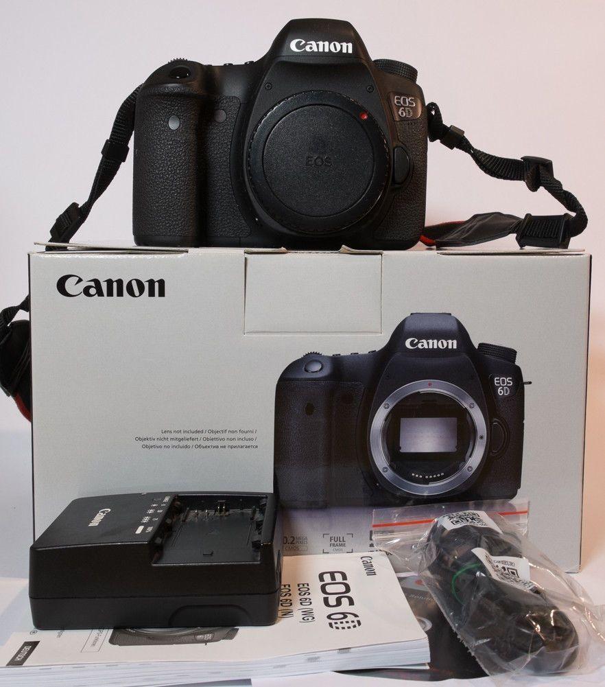Canon EOS 6D Vollformat DSLR - Sehr guter Zustand - wie neu- in OVP