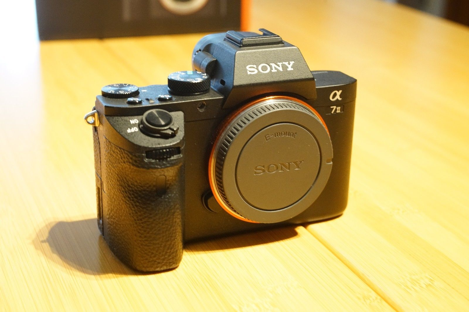 Sony Alpha A7 II Mark 2 ILCE-7M2 Gehäuse - Top Zustand